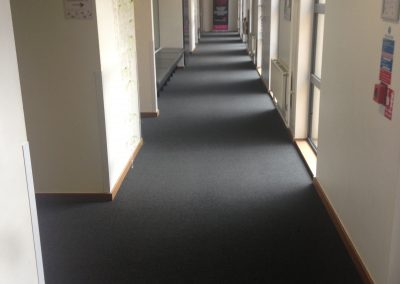 Carpet tiles to conference centre